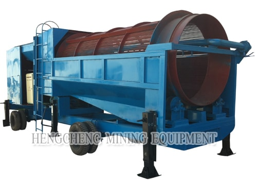 Mobile Gold Washing Plant