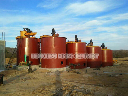 Double-impeller Leaching Tank
